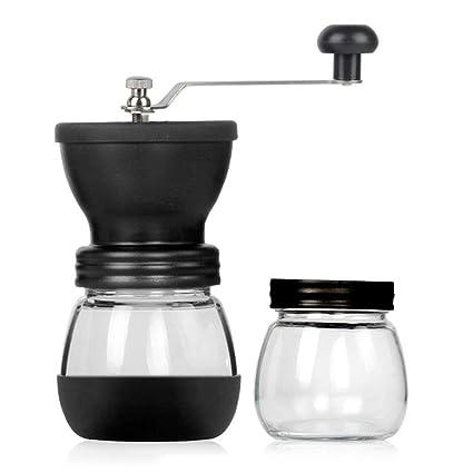 LLXYM Máquina de café Manual de Lavado Máquina de café Manual Molinillos de Grano de café