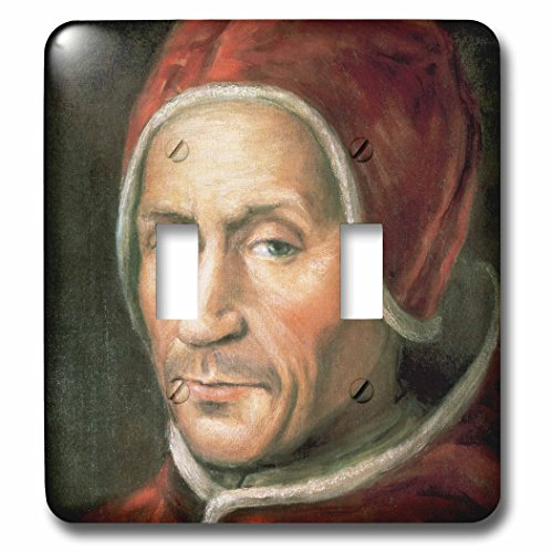 3dRose lsp_83013_2 Painting Of Adrian Vi, Dutchman Pope, ...