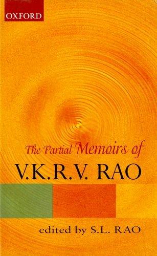 The Partial Memoirs of V.K.R.V. Rao pdf