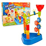 WISHTIME WaterPark Sand Wheel Beach Toy Set for Kids by