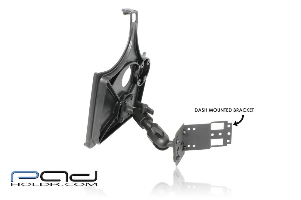 Padholdr Eco Series iPad Dash Kit without Charging Dock for 2005-2007 Infiniti G35 Coupe and Sedan Pad Holdr PHECO75130-505
