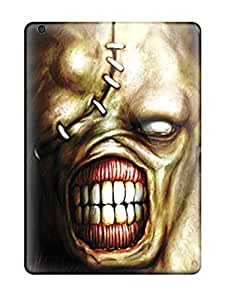 Anti-scratch And Shatterproof Resident Evil Phone Case For Ipad Air/ High Quality Tpu Case