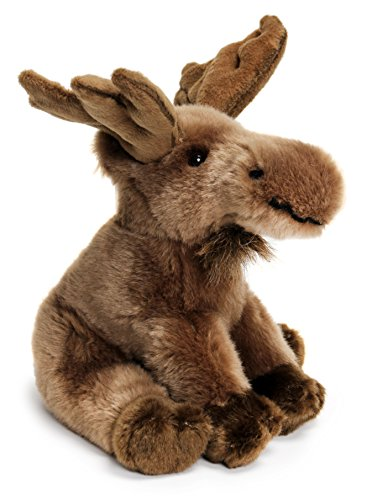 (Martin the Moose | 9 Inch Realistic Looking Stuffed Animal Plush | By Tiger Tale Toys)