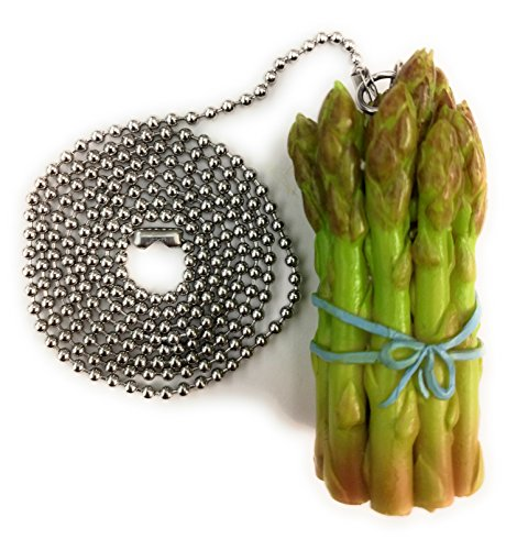 Cornaments Brand ASPARAGUS Ceiling Fan Chain Pull - Terrific Housewarming Gift and Unique Present. Collect All 12!