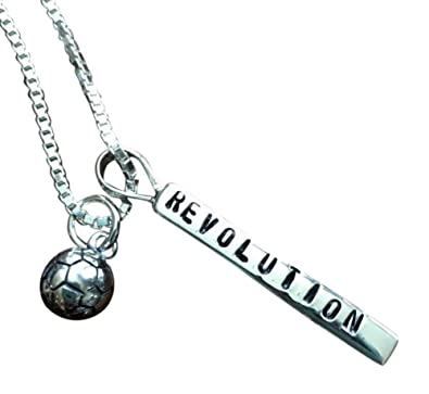 Amazon com: K&S Impressions Personalized Soccer Necklace