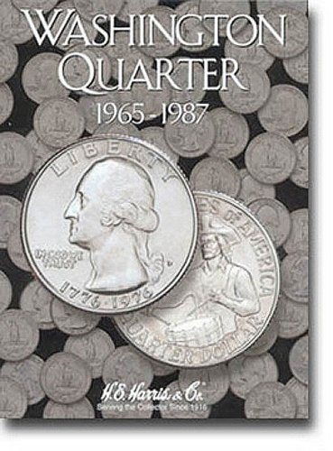 Washington Quarters Folder 1965-1987