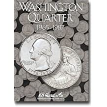 4 Harris Coin Folders Set Collection For Washington Quarters Nos.1-4 1932-1998