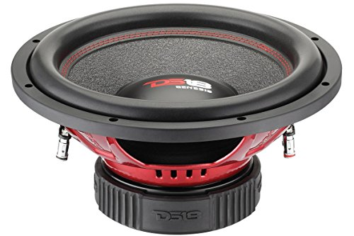 DS18 GEN154D Genesis Series 15-Inch Subwoofer, Dual Voice Coil, 1000 Watts Max