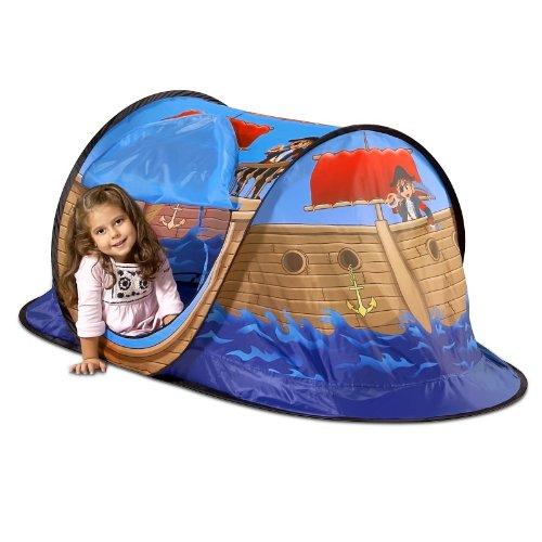 Tente de jeux Tente de jouer pour enfant bateau pirate Tente pop ...