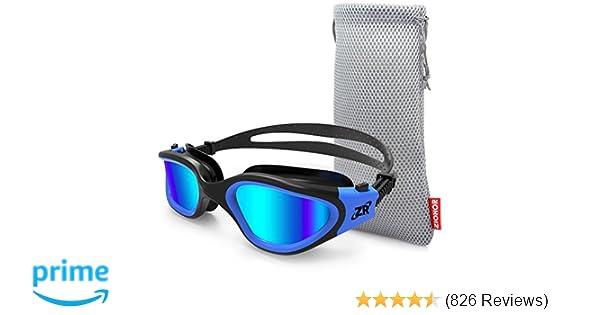 6c99737237 Amazon.com   Zionor Swimming Goggles