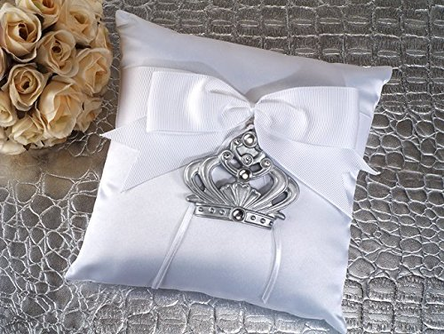 Royalty For A Day Ring Pillow by Cassiani