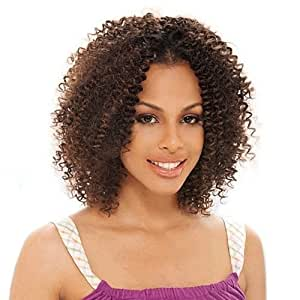 BOHEMIAN CURL 12'' - Shake N Go Freetress Equal Synthetic Hair Weave Extensions #1B Off Black by Unknown