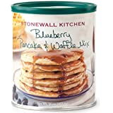 Stonewall Kitchen - Pancake e Waffle mix ai mirtilli - Blueberry Pancake and Waffle Mix- Preparato per Pancake e Waffle americano ai mirtilli in confezione richiudibile. Made USA
