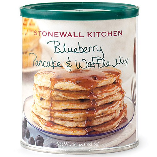 Stonewall Kitchen Blueberry Pancake and Waffle Mix, 16 Ounce Can ()