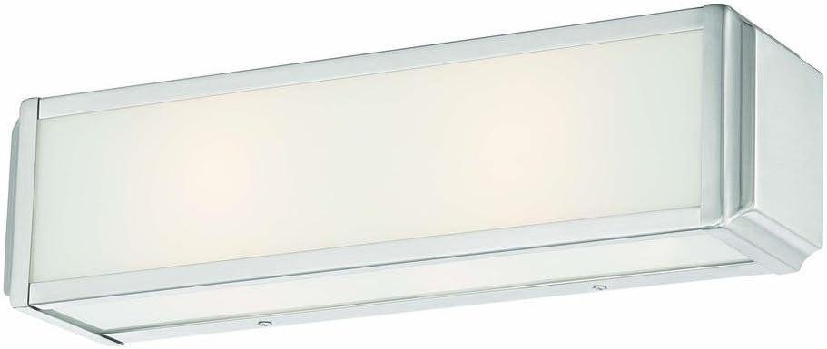 Hampton Bay Tamworth 3-light Brushed Nickel Vanity