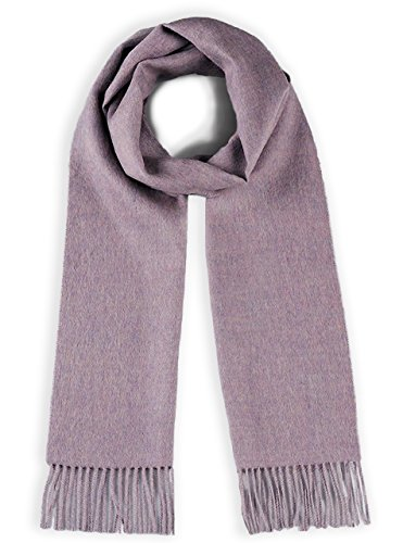 100% Pure Baby Alpaca Scarf - Bright Happy Solid & Natural Dye Free Colors (Orchid) ()