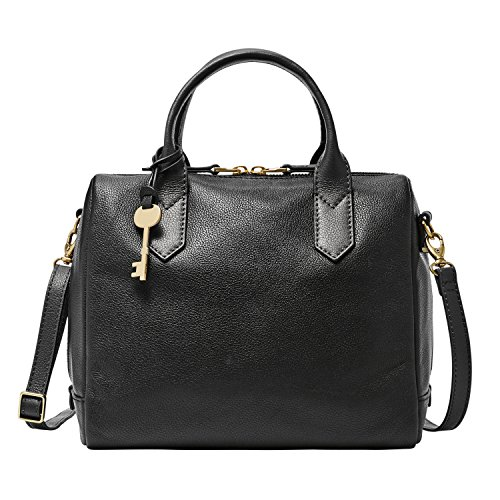 Fossil Black Handbag - 7