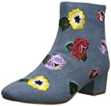 Best Betsey Johnson Ankle Boots - Betsey Johnson Women's Twiggy Fashion Boot, Denim, 6 Review