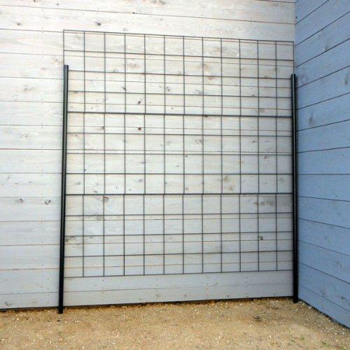 つるバラ用フェンス:カラマリーナVG-G(グリーンパネル)[幅180cm×高さ180cm] B00EODZAY0 29700