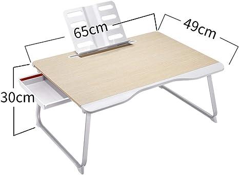 Mesa de escritorio plegable para ordenador o cama, mesa de estudio ...