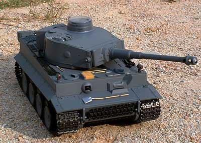 Heng Long German Tiger 1/16 Scale Rc Remote Control Bb Firing Tank