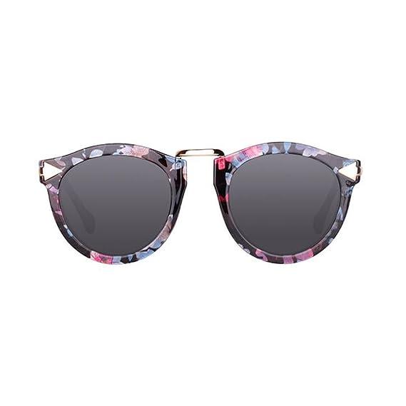 HONEY Lunettes de soleil polarisantes pour femmes Nouveaux modèles 2018 - Chauffeur - Lunettes de tourisme et de loisirs ( Couleur : Black frame/gray ) fOOL9Y2
