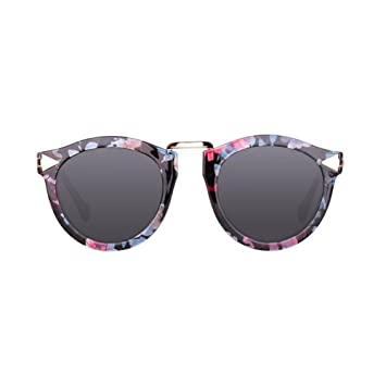 HONEY Gafas de sol polarizadas para mujeres New 2018 Models - Chauffeur-driven - Tourism And Leisure Glasses (Color : Flower frame/gray) : Amazon.es: ...