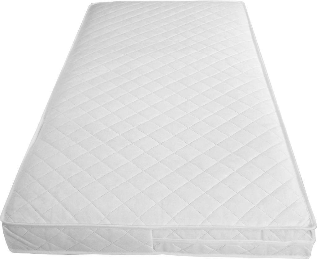 Baby Toddler Cot Bed Fully Breathable Foam Mattress & Waterproof Cover All Sizes(120 x 60 x 10) iStyle