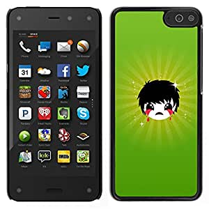 LECELL--Funda protectora / Cubierta / Piel For Amazon Fire Phone -- Triste Emoji --