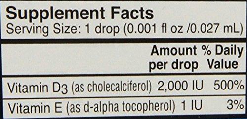 Carlson Labs Super Daily D3 2000IU Supplement, 10.3 ml 0.35 Fluid Ounce