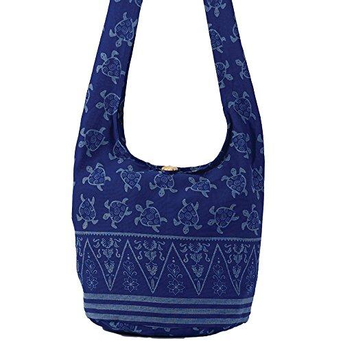 Blue Turtle Hobo Bag