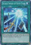Yu-Gi-Oh! - Sacred Sword of Seven Stars (MP14-EN042) - Mega Pack 2014 - 1st Edition - Super Rare