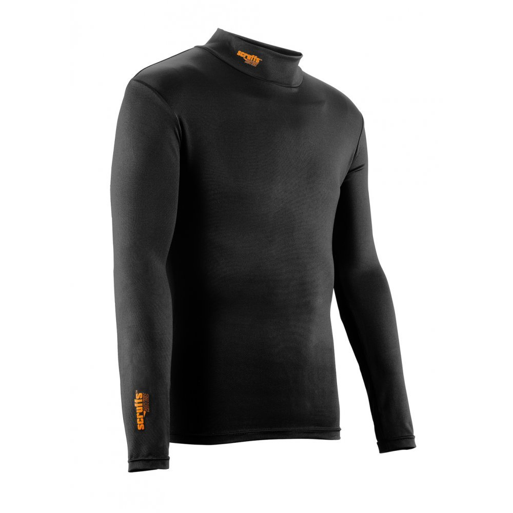 Scruffs Pro Base Layer Thermal Top Black XL