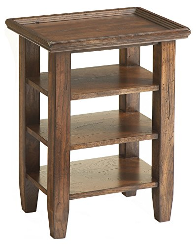 Broyhill Attic Accessory Table, Rustic Oak