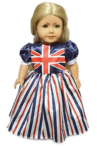 Uk National Costume For Kids (My Brittany's UK National Pride Dress for American Girl Dolls)