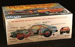FIRE FIGHTER MUSTANG II PRO STOCKER * Nostalgic Series * Skill Level 2 Plastic 1:25 Scale Model Ki by Amt