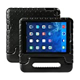 NEWSTYLE iPad 9.7 inch 2017 / 2018 Kids Case Shockproof Stand Cover with Built-in Handle for Children for Apple New iPad 9.7-inch (Black)