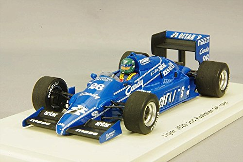 1/43 Ligier JS25 2nd Australian GP 1985 Jacques Laffite #26 S3973
