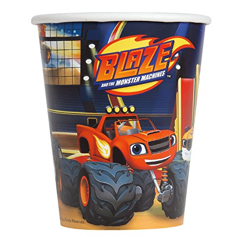 Blaze and the Monster Machines Party Cups 8ct