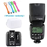 Godox TT600 2.4G high speed sync Wireless Camera Flash Speedlite +Godox X1T-N Remote Trigger Transmitter for Nikon+ CONXTRUE USB LED free gift
