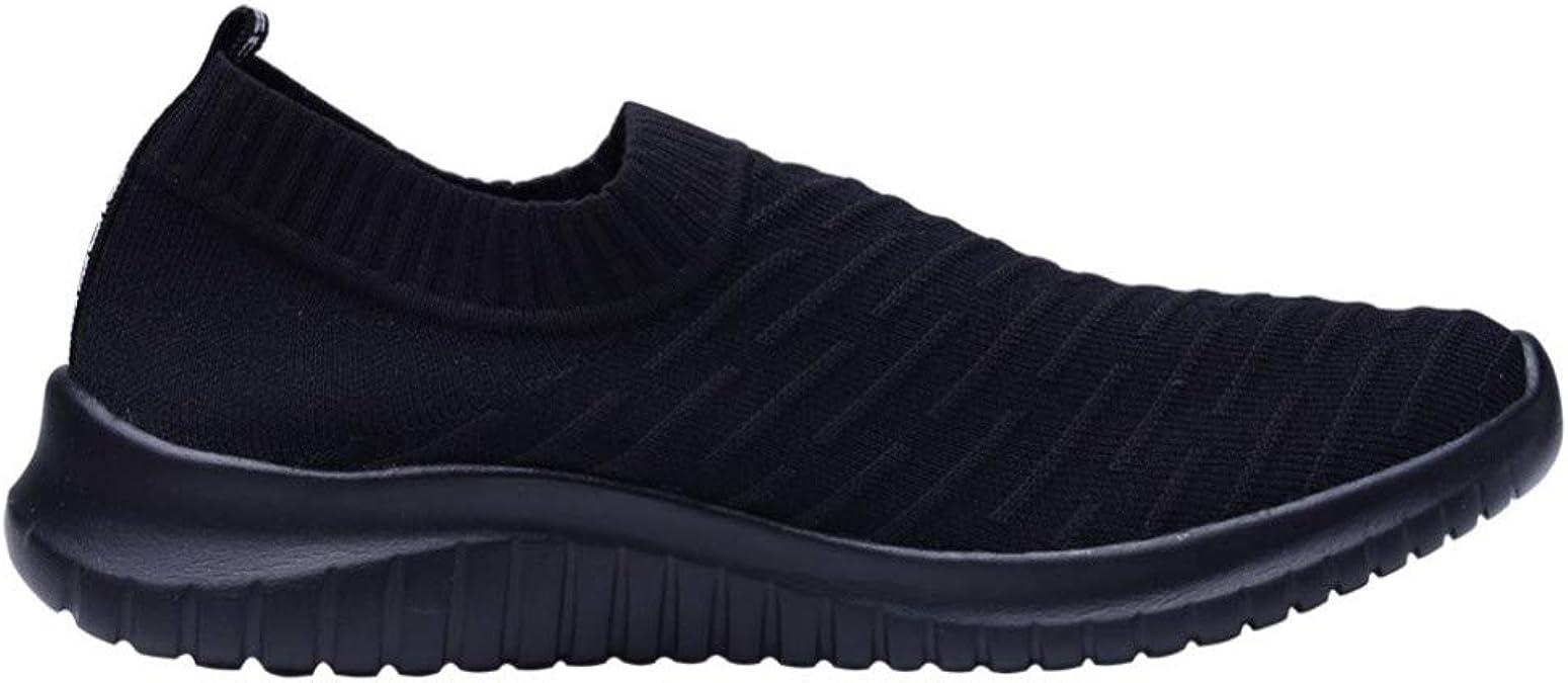 ZKYSO - Zapatillas de Running para Mujer, Ligeras, con Plataforma, cómodas, con Parte Inferior Suave, Negro (Zapatos Negros), 38.5 EU: Amazon.es: Zapatos y complementos