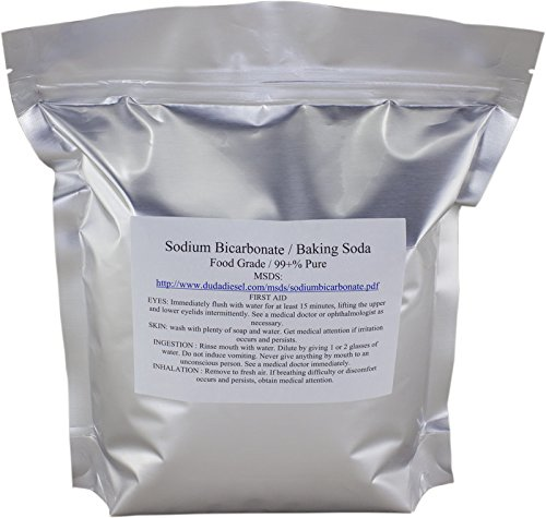 Duda Energy sbc5f USP Pure Sodium Bicarbonate Powder Highest Quality Organic Food Grade ORMI Listed Pure Baking Soda, 5 lb. For Sale