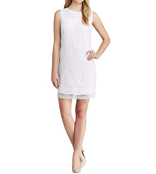 Elie Tahari Lillian White Lace Dress At Amazon Womens