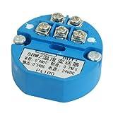 eDealMax PT100 trasmettitore di temperatura sensore 0-400C uscita 0-5 V DC