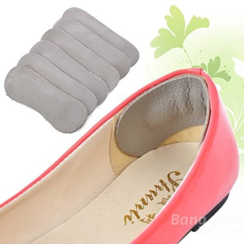 5 Pairs Leather Shoes Feet Foot Run Walk Care Inside Soft Protection Thickening Heel Arch Cushion Mats Pads Buckdirect Worldwide Ltd.