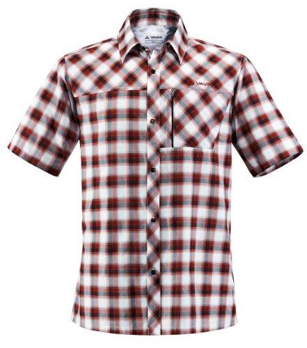 Vaude Shirt BURREN. Herrenhemd. Outdoor, Freizeit, Wandern. Superschön und schadstofffrei. Red. Gr. S