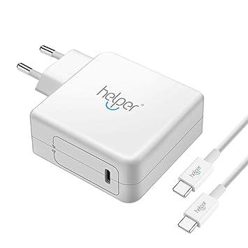 45W USB Tipo C PD Cargador rápido Adaptador de Carga para el ...
