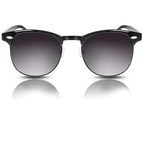 Oramics - Gafas de sol - para mujer negro Schwarz - Blaue Gläser