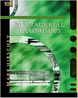 Managerial economics 10th tenth edition mark hirschey managerial economics 10th tenth edition mark hirschey 8580000084672 amazon books fandeluxe Choice Image