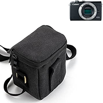K-S-Trade para Canon EOS M100 Cámara Bolsa Funda de Hombro ...